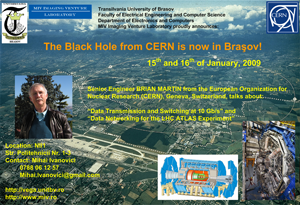 The Black Hole from CERN is now in Brasov!